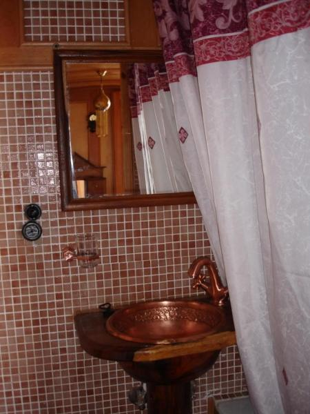 salle de bain *WC, lavabo et douche