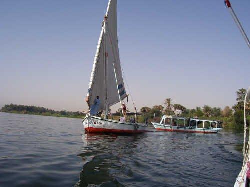 en descendant le Nil