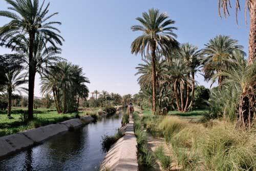 belles balades le long des canaux d'irrigation