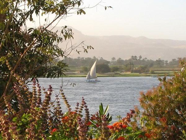 le Nil a Louxor