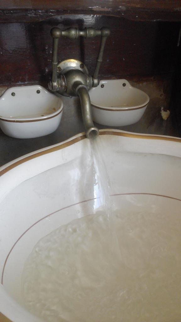 les lavabos d'epoque