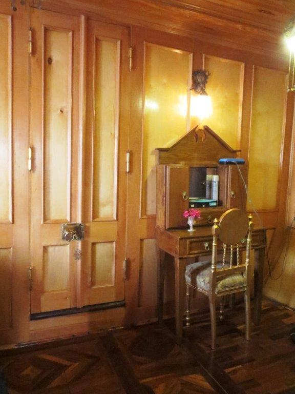 interieur cabine