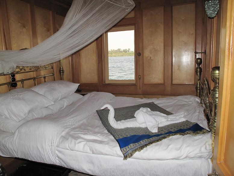 le lit de la suite du Khedewi