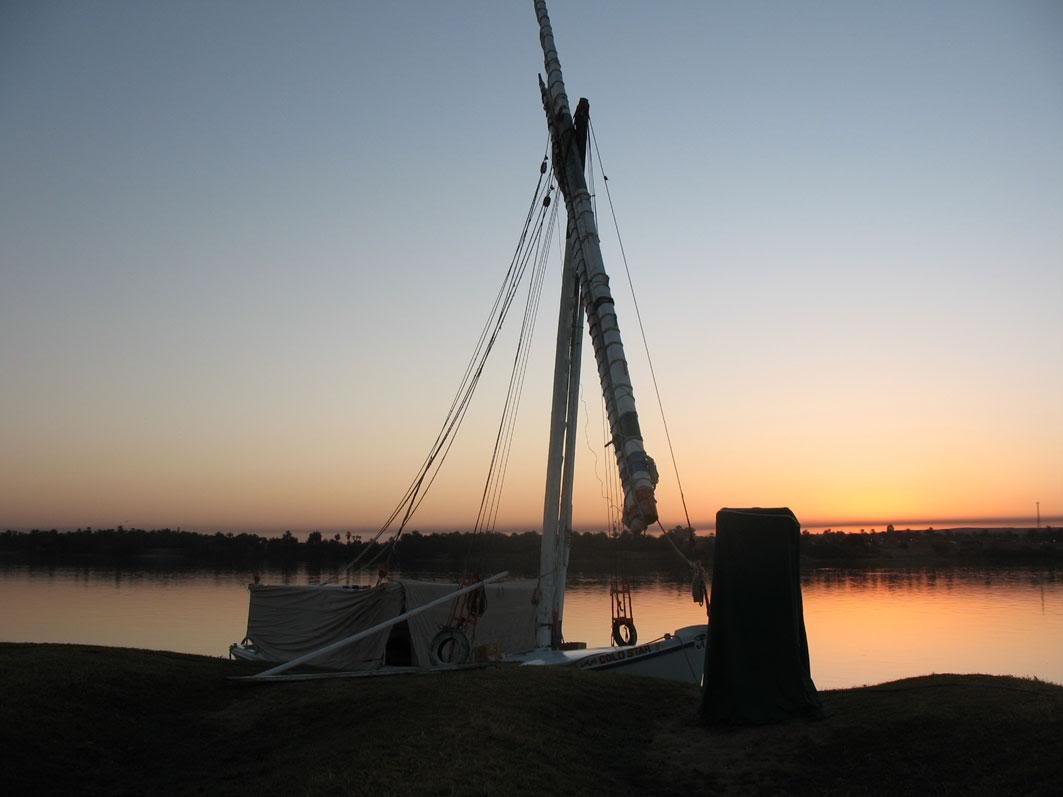 lever du soleil sur le Nil